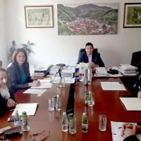 Radni posjet Kreševu ministra gospodarstva KSB/SBK Nisveta Hrnjića sa suradnicima