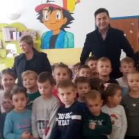 Načelnik i djelatnici Općine u posjetu dječjem vrtiću