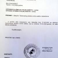 Aktualna epidemiološka situacija: Zaključci Kantonalnog stožera civilne zaštite