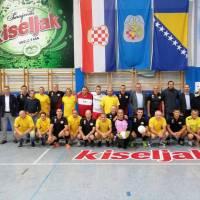 Nogometni veterani iz Baranje u Kreševu i Kiseljaku