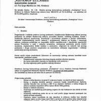 "Natječaj za izbor i imenovanje direktora JKP ""Kostajnica"""