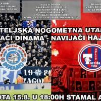 """U subotu nogometna utakmica """"dinamovaca"""" i """"hajdukovaca"""""""