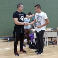 Edin Beganović najbolji junior na natjecanju u Visokom