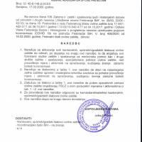 16 naredbi Federalnog stožera Civilne zaštite