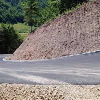 Završeni radovi na sanaciji klizišta i rekonstrukciji dionice puta  Crnići – Crnićki Kamenik iznad Drmaća