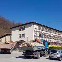 Započeli radovi na utopljevanju zgrade srednje škole
