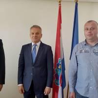 Načelnik Pejak i gvardijan Tomas u posjetu Središnjem državnom uredu za Hrvate izvan Republike Hrvatske