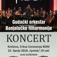 Koncert gudačkog orkestra Banjalučke filharmonije - najava