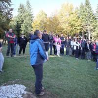 Održan planinarski pohod Lisin - Lisin, otkriven spomenik Zoranu Šimiću i otvoren bivak nazvan po njemu