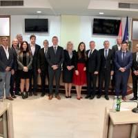 Sastanak predstavnikaHrvata središnje Bosne s čelnicima Središnjeg državnog ureda za Hrvate izvan Republike Hrvatske
