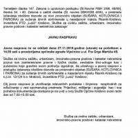"""Javna rasprava - novi proizvodni objekt PTD """"Lukić"""""""