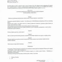 Odluka o pokretanju postupka javne nabave - sanacija deponije na Bukvi