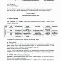 "JKP ""Kostajnica"" - javna licitacija"