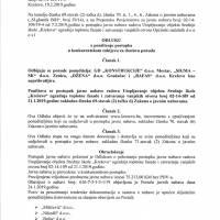"""Odluka o poništenju postupka javne nabave - utopljavanje objekta Srednje škole """"Kreševo"""""""