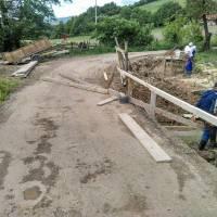Započeli radovi na obnovi mosta u Polju