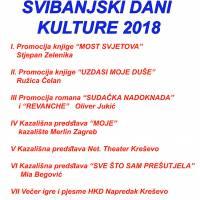 """""""Svibanjski dani kulture"""" 2018."""