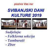 """Najava: """"Svibanjski dani kulture"""" - nastup folklora, tamburaša i pjevačkog zbora"""