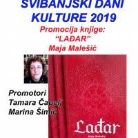 "Najava: Promocija knjige ""Lađar"" Maje Malešić"