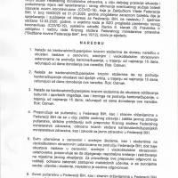 Naredba Federalnog ministarstva zdravstva - sprječavanje i rano otkrivanje coronavirusa