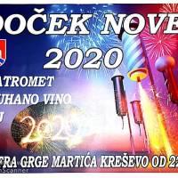 Doček Nove 2020. godine