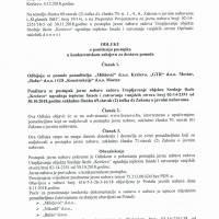 """Odluka o poništenju postupka u konkurentskom zahtjevu za dostavu ponuda - utopljavanje objekta Srednje škole """"Kreševo"""""""