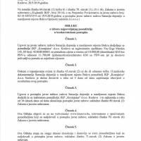 Odluka o izboru najboljeg ponuditelja - sanacija deponija na Bukvi