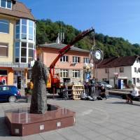 Postavljen sat na Trgu fra Grge Martića
