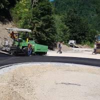 Završeni rekonstrukcija i asfaltiranje puta Kreševo - Tarčin