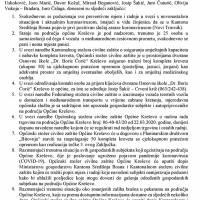 Zaključci sa sjednice Općinskog stožera Civilne zaštite (26.III.)