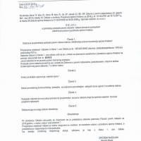 Odluka o pokretanju postupka javne nabave radova otvorenim postupkom - Asfaltiranje putova na području općine Kreševo