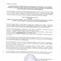 Javna prezentacija - Odluka o izmjenama i dopunama Odluke o radnom vremenu u ugostiteljskim, trgovinskim, obrtničkim, uslužnim i drugim objektima i djelatnostima na području općine Kreševo