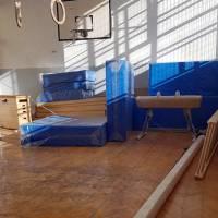 Montira se oprema u sportskoj dvorani na Trosci